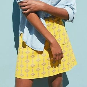 Anthropologie 🍋 MAEVE Mini Skirt